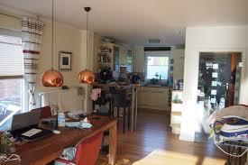 küche wohnzimmer trennen raumteiler raumidee schiebetür