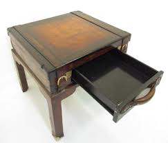a quirky antique style leather suitcase table ebay