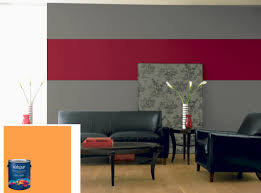 Black And Red Living Room Decorations by Interior Cozy Red Living Room Design Ideas Using Red Grey Wall