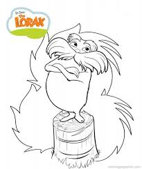 Dr Seuss The Lorax Coloring Pages 8