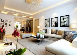Modern Living Room Interior Design Of Ign Cool Home Decor