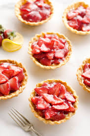 Mini Strawberry Lemon Pies are the perfect dessert recipe to serve your party guests for an