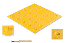 brock white detectable warning panels and plate systems