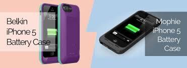 iPhone 5 5s Battery Case Belkin Grip Power vs Mophie Juice Pack Plus