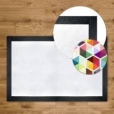tapis de bureau personnalisé tapis personnalisé bord caoutchouc bureau maison event