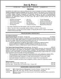 Hr Business Partner Resume Sample Packed With J A C Q U E L Y N R K O H S