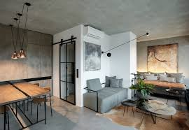 100 Small Modern Apartment Sophisticated Industrial Loft With Unique Design
