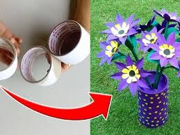 Amazing Idea With Used Round Tape Roll