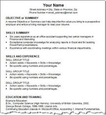 Get Your Resume Template Three For Free