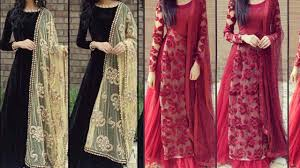 Beautiful Full Sleeves Suit Designs Pakistani Ideas For Wedding Party Wear