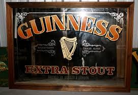 Shamrock Plank Flooring American Pub Series by Guinness Extra Stout St James U0027s Gate Irish Pub And Bar Mirror
