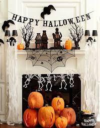 Cute Halloween Decorations Pinterest by Best 25 Halloween Mantel Ideas On Pinterest Halloween Fireplace