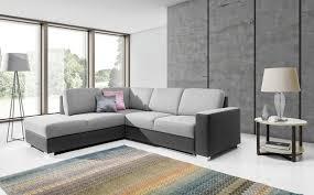 wohnzimmer funktions schlafsofa sofa polster ecksofa textl sitz garnitur