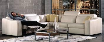 Era Nouveau Top Grain Power Reclining Sectional Haynes Furniture