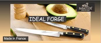 couteau cuisine sabatier couteaux de cuisine ideal forgé sabatier