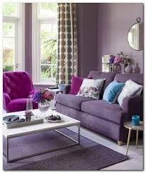 28 living room with purple color schemes design ideas