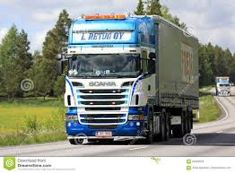 100 Jkc Trucking Colorful Scania Semi Truck Transport Editorial Image Image Of
