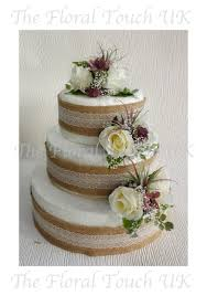Rustic Vintage Style Cake Toppers