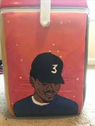 Chance The Rapper Coloring Book Cooler Painting