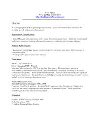 Professional Retail Resume Examples - Yupar.magdalene ...