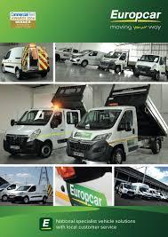 100 National Moving Truck Rental Europcar Van Brochure