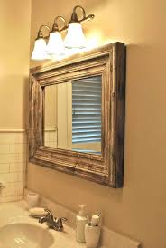 Wayfair Bathroom Vanity Mirrors by Bathrooms Design Framed Bathroom Mirrors X Ideas Mirror Wood