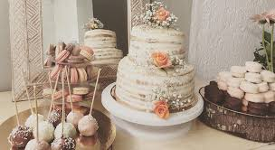 Salted Caramel Butter Rustic Cake And Darkwhite Chocolate Pops Napolitains Macarons