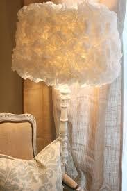 DIY Coffee Filter Lamp Shade