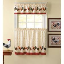 walmart rooster kitchen curtains 100 images curtains curtains