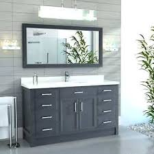 60 single bathroom vanity 60 inch bathroom vanity single sink