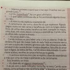1 Releia Os Parágrafos 36 A 42 Do Conto Camilo Ficou