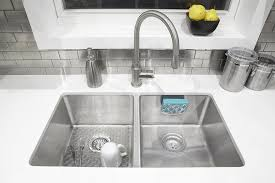 Sink Protector Mat Uk by Umbra Meridian Sink Liner Large Clear Amazon Co Uk Kitchen U0026 Home
