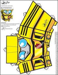 Bumblebee Transformer Pumpkin Stencil by Bumblebee Hedkase Papercraft Pinterest Transformers