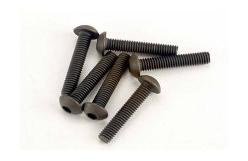 Traxxas 2579 Button Head Machine Screw 3x15mm (6)
