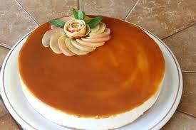 dessert aux pommes sans cuisson cheese cake sans cuisson aux pommes et caramel de jus de