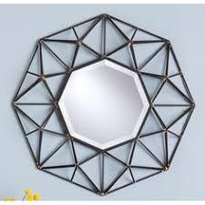 Wayfair Decorative Wall Mirrors by Found It At Wayfair Renata Metal Wall Mirror Wisconsin House