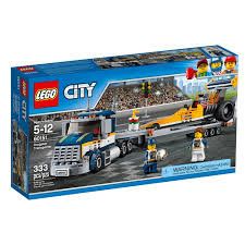 100 Lego City Tow Truck Amazoncom LEGO Great Vehicles Dragster Transporter 60151