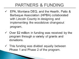 Hearth Patio And Barbecue Association Of Canada by Woodstove Changeout Program Libby Montana The Problem And