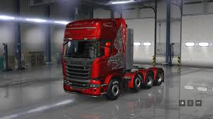 100 Scania Truck SCANIA S For ATS V161 129x131x ATS Mod American