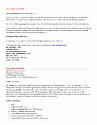Cover Letters Internship Sample Beautiful Ideas Accounting Cover
