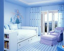 Girl Bedroom Ideas With Blue Walls