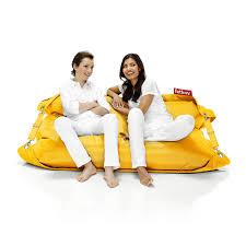 Fatboy Outdoor Ochre Yellow With People