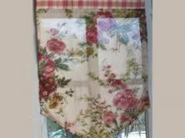 rideau de cuisine brise bise comptoir de famille rideaux brise bise fleurs et carreaux 47x67 cm