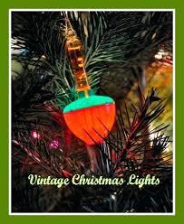 Vintage Christmas Tree Lights Retro Uk Authentic