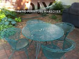 green metal patio chairs reader re do a colorful patio furniture makeover curbly