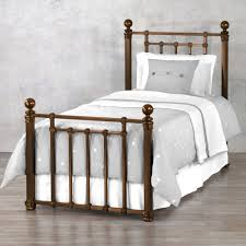 Wesley Allen King Size Headboards by Quati Highrise Frame Iron Bed By Wesley Allen Humble Abode