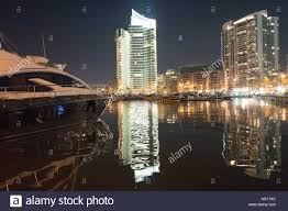 View Of The Yacht Port With Skyline In Background Beirut Lebanon 29 January 2018 Credit Jorg Carstensen Dpa Alamy Live News