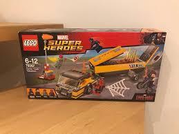 BNIB Lego Marvel Super Heroes Tanker Truck Takedown 76067 | In ...