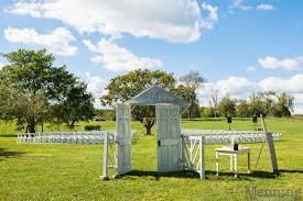 Outdoor wedding venue in Ohio Brookside Farms in Louisville
