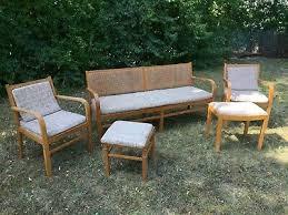 esszimmermöbel nussbaum antik mit sitzbank 2 sesseln
